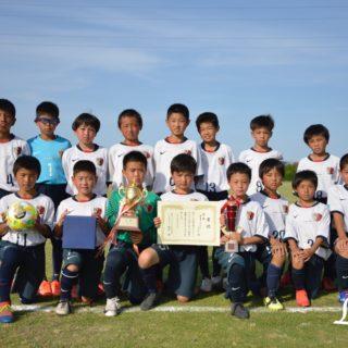 第9回U-11チャリティーサッカー大会1位鹿島アントラーズジュニア