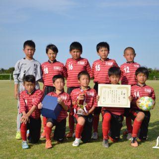 第9回U-11チャリティーサッカー大会2位FC波崎