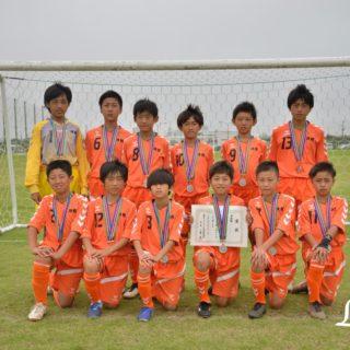 サマーフェスティバルU12【準優勝】神栖SSS