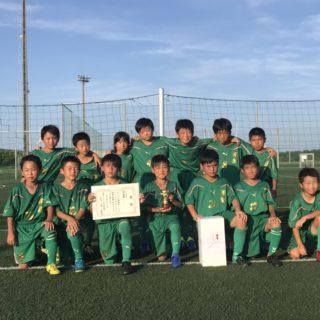 神栖市ジュニアフットサル大会準優勝  4年生