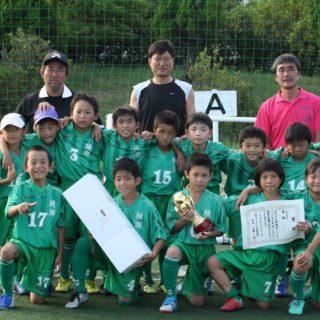 神栖市ジュニアフットサル大会優勝  3年生