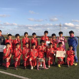 第14回神栖市長杯争奪少年サッカー大会 優勝