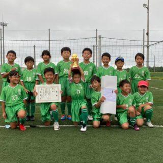 R2.9.13  神栖市フットサル大会3年生の部  優勝