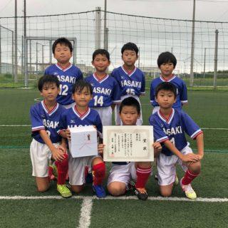 3年生3位(FC波崎)