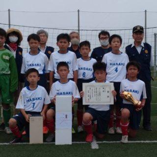 6年生優勝(FC波崎)