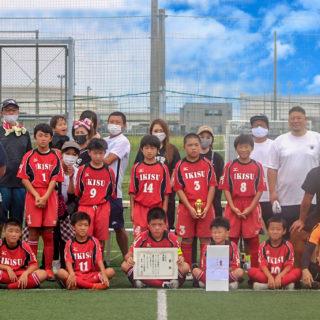 神栖市フットサル大会(準優勝/6年)