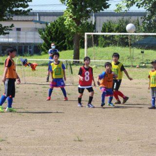 スキンシップサッカー④