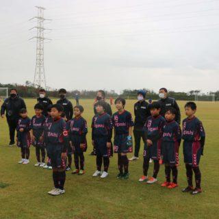 U-11サッカー大会新ユニホーム披露11月3日