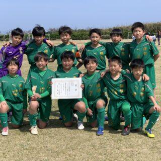 令和3年3月27日に行われた市内トーナメントにおいて5年生が3位